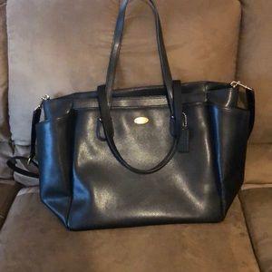 Oversized coach bag/diaper bag